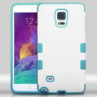 TUFF Merge Hybrid Case for Samsung Galaxy Note 4 - White Teal