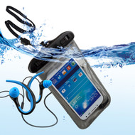 ECO Waterproof Pouch Kit Earphones with Mic and Armband