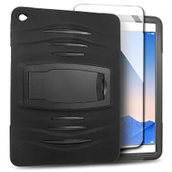 *SALE* Maximum Armor Hybrid Case with Integrated Screen Protector for iPad Air 2 - Black