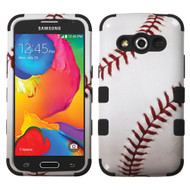 *SALE* Military Grade TUFF Image Hybrid Case for Samsung Galaxy Avant - Baseball