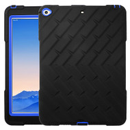 *Sale* Terrain Heavy Duty Hybrid Case with Integrated Screen Protector for iPad Air 2 - Black Blue