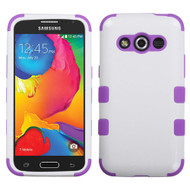 *Sale* Military Grade TUFF Hybrid Case for Samsung Galaxy Avant - White Purple