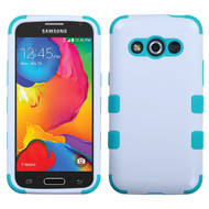 *Sale* Military Grade TUFF Hybrid Case for Samsung Galaxy Avant - White Teal