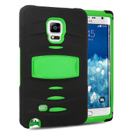 *Sale* Maximum Armor Hybrid Case for Samsung Galaxy Note Edge - Black Green