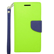 *Sale* Leather Wallet Shell Case for HTC Desire 512 / 510 - Green