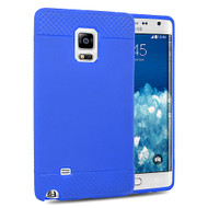*Sale* Premium TPU Skin Cover for Samsung Galaxy Note Edge - Blue