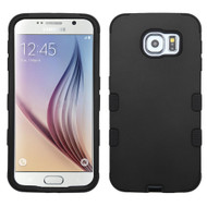 Military Grade Certified TUFF Hybrid Case for Samsung Galaxy S6 - Black