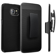 *SALE* Armor Shell Case with Holster Combo for Samsung Galaxy S6 - Black