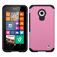 *Sale* Hybrid Multi-Layer Armor Case for Nokia Lumia 630 / 635 - Pink