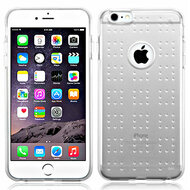 Perforated Transparent Cushion Gelli Skin Cover for iPhone 6 Plus / 6S Plus - Clear