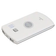Naztech PB2800qi Power Bank Battery Charger with Wireless Qi Charging Pad - Pearl White