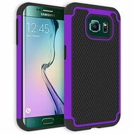 *Sale* TotalDefense Hybrid Case for Samsung Galaxy S6 Edge - Purple