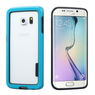 *Sale* Snap-On Hybrid Bumper Case for Samsung Galaxy S6 Edge - Blue