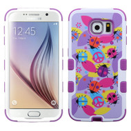 Military Grade Certified TUFF Image Hybrid Case for Samsung Galaxy S6 - Peace Ladybugs