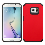 *Sale* Hybrid Multi-Layer Armor Case for Samsung Galaxy S6 Edge - Red