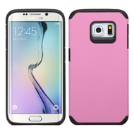 Hybrid Multi-Layer Armor Case for Samsung Galaxy S6 Edge - Pink