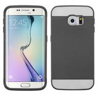 Credit Card Hybrid Case for Samsung Galaxy S6 Edge - Black