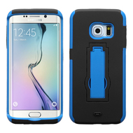 Explorer Impact Armor Kickstand Case for Samsung Galaxy S6 Edge - Black Blue