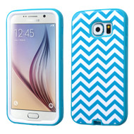 Verge Image Hybrid Case for Samsung Galaxy S6 - Blue Wave