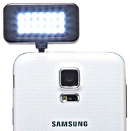 Portable Smartphone LED Spotlight - Black