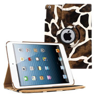 *SALE* Smart Rotary Leather Case for iPad 2, iPad 3 and iPad 4th Generation - Giraffe
