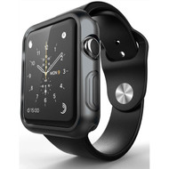 Protective Bumper Case for Apple Watch 42mm - Smoke