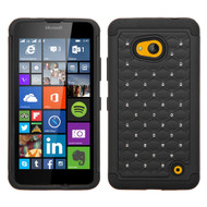 *SALE* TotalDefense Diamond Hybrid Case for Microsoft Lumia 640 - Black