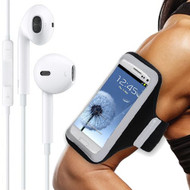 All Sport Neoprene Armband and Headphones Bundle - Black