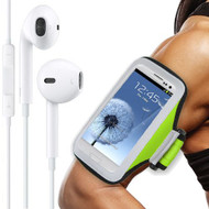 All Sport Neoprene Armband and Headphones Bundle - Green