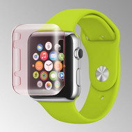 Transparent Crystal Case for Apple Watch 38mm - Pink