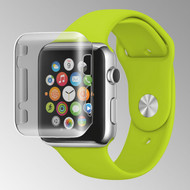 Transparent Crystal Case for Apple Watch 38mm - Smoke