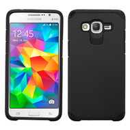 Hybrid Multi-Layer Armor Case for Samsung Galaxy Grand Prime - Black