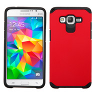 Hybrid Multi-Layer Armor Case for Samsung Galaxy Grand Prime - Red