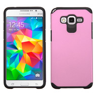 Hybrid Multi-Layer Armor Case for Samsung Galaxy Grand Prime - Pink