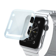 Transparent Crystal Case for Apple Watch 38mm - Blue