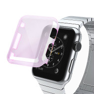 Transparent Crystal Case for Apple Watch 38mm - Purple