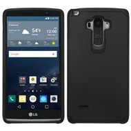 Hybrid Multi-Layer Armor Case for LG G Stylo / Vista 2 - Black
