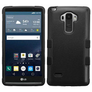 Military Grade Certified TUFF Hybrid Case for LG G Stylo / Vista 2 - Black