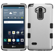 Military Grade Certified TUFF Hybrid Case for LG G Stylo / Vista 2 - Grey