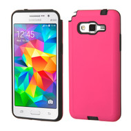 Dual Layer Hybrid Case for Samsung Galaxy Grand Prime - Hot Pink