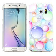 Aero Graphic Protective Case for Samsung Galaxy S6 Edge - Rainbow Bubbles