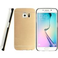*Sale* Aluminum Alloy Fusion Hybrid Case for Samsung Galaxy S6 Edge - Gold