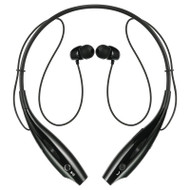Luxmo Bluetooth Wireless Sports Stereo Headset - Black