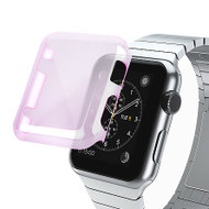 Transparent Crystal Case for Apple Watch 42mm - Purple