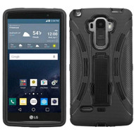 Explorer Impact Armor Kickstand Case for LG G Stylo - Black