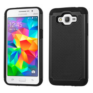 TotalDefense Hybrid Case for Samsung Galaxy Grand Prime - Black