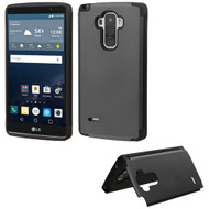 Hybrid Kickstand Case for LG G Stylo / Vista 2 - Black