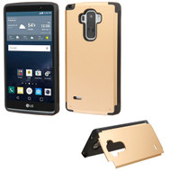 Hybrid Kickstand Case for LG G Stylo - Gold