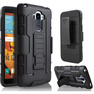 *SALE* Robust Armor Stand Protector Cover with Holster for LG G Stylo / Vista 2 - Black