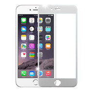 Premium Round Edge Tempered Glass Screen Protector for iPhone 6 Plus / 6S Plus - Silver